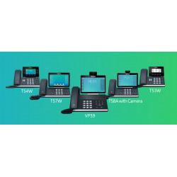Новые бизнес-телефоны серии T5 от компании Yealink