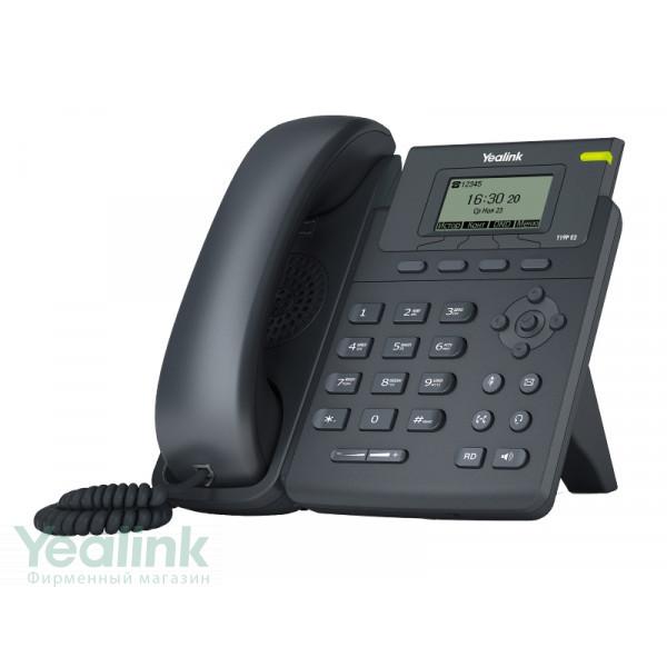 Настольный IP-телефон Yealink SIP-T19P E2 без блока питания