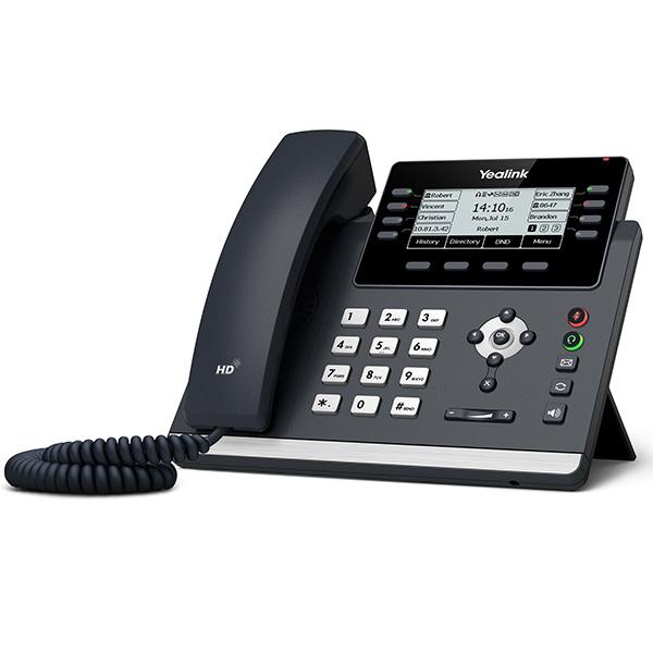 Настольный IP-телефон Yealink SIP-T43U