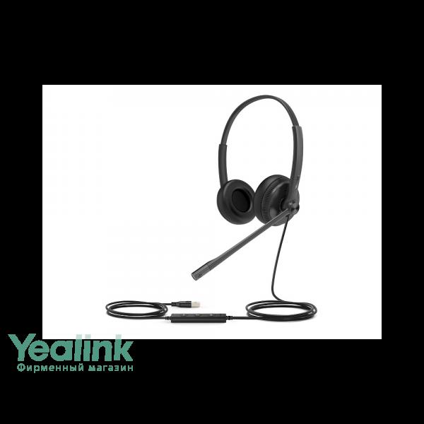 USB-гарнитура Yealink UH34 Dual UC