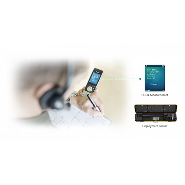 Микросотовая IP-DECT-система Yealink W80B (new version)