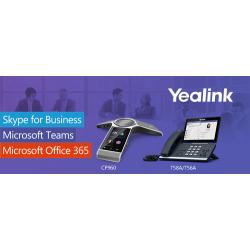 Теперь модели аппаратов Yealink T56A, T58A и CP960  совместимы с сервисами Microsoft Teams
